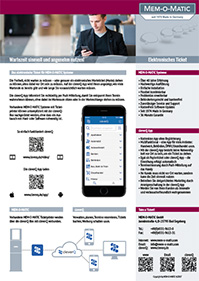 Datenblatt Elektronisches Ticket