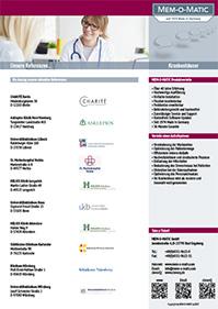 Referenzen Krankenhäuser